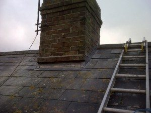 Chimney Lead Work at Trinity Street Taunton